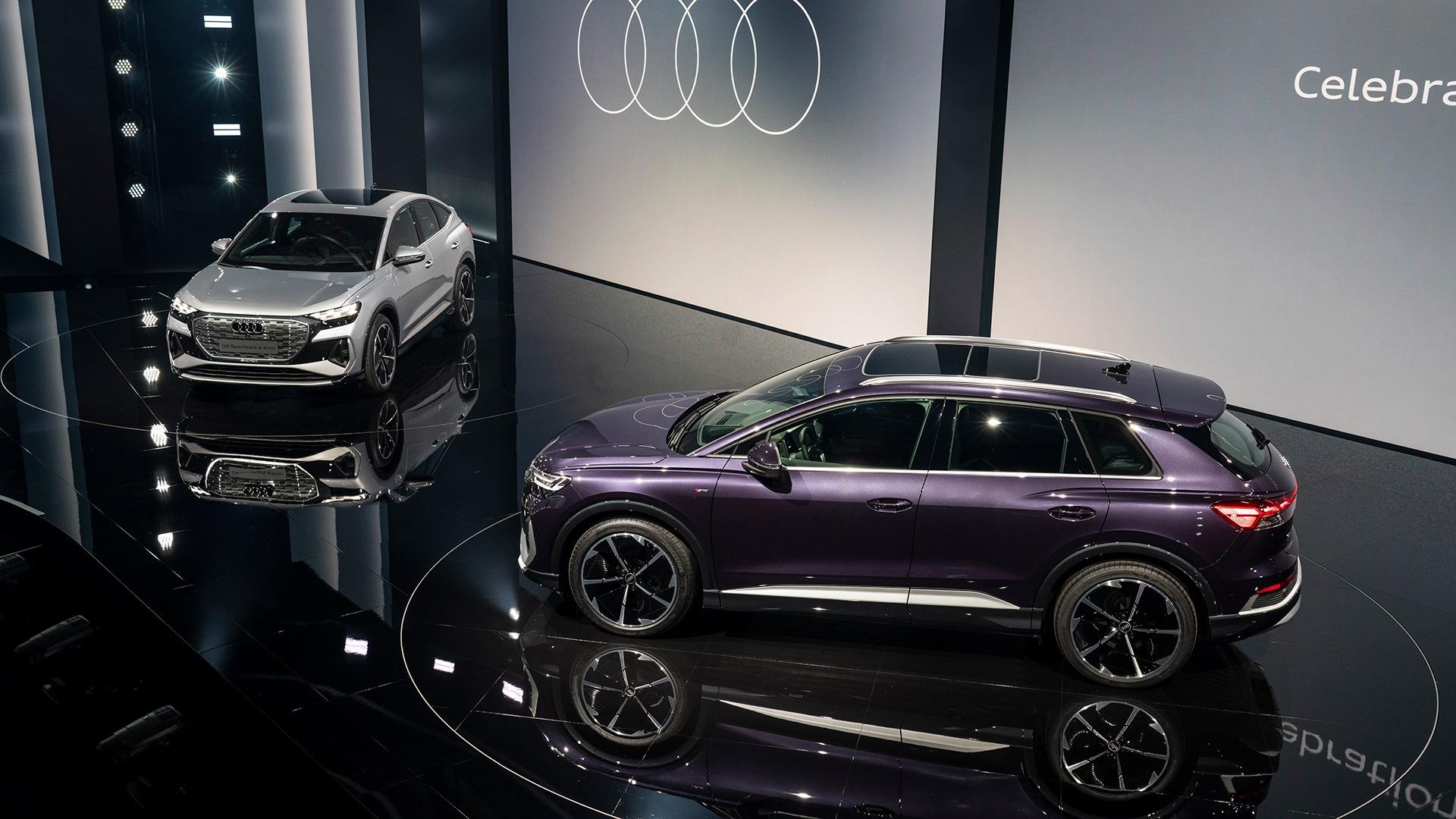 Audi Q4 e-tron je pomemben mejnik v Audijevi strategiji elektrifikacije. Je prvi premijski električni SUV v kompaktnem razredu.