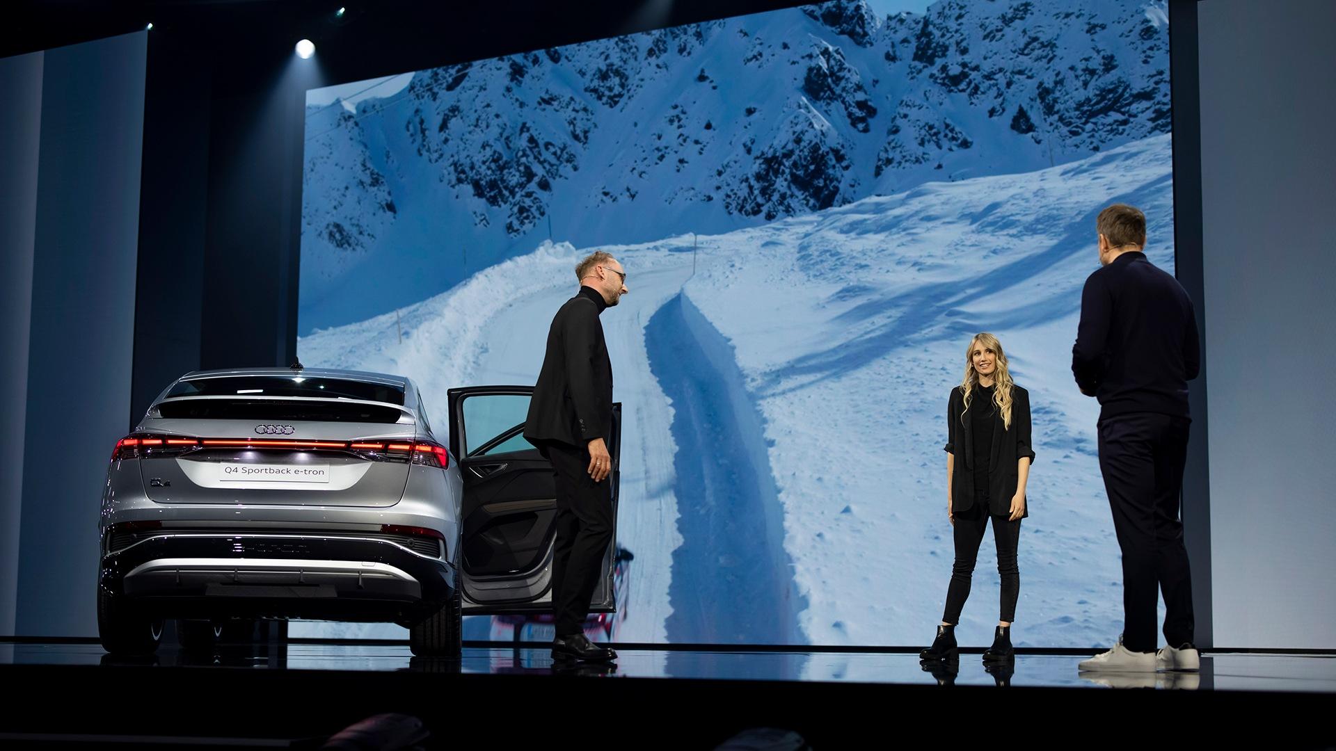 Avstrijska deskarka na snegu Anna Gasser je na olimpijskih igrah in svetovnem prvenstvu s svojo desko pometla s konkurenco. Je ambasadorka znamke Audi.