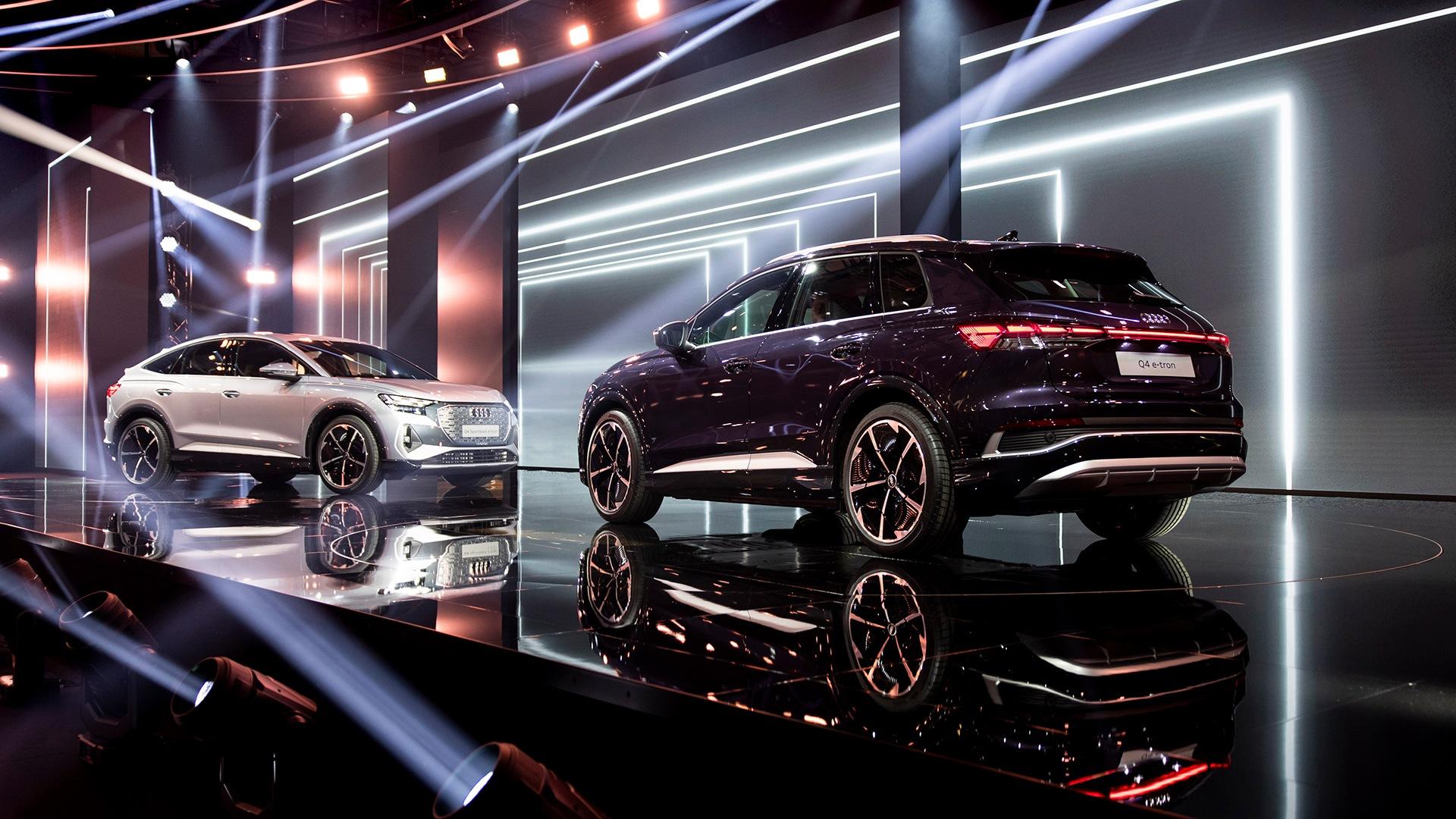 Nova modela Audi Q4 e-tron bosta na evropske trge prišla poleti 2021.