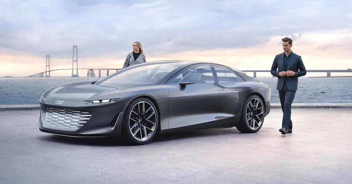 Konceptno vozilo Audi grandsphere
