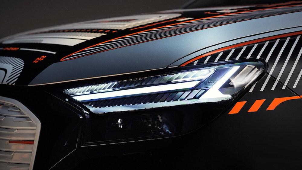 Sprejdnji žarometi Audija Q4 e-tron